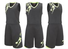 Rigorer Men's Reversible Basketball Uniforms Wear Sports Jersey and Mesh Shorts Training Tank Top Set