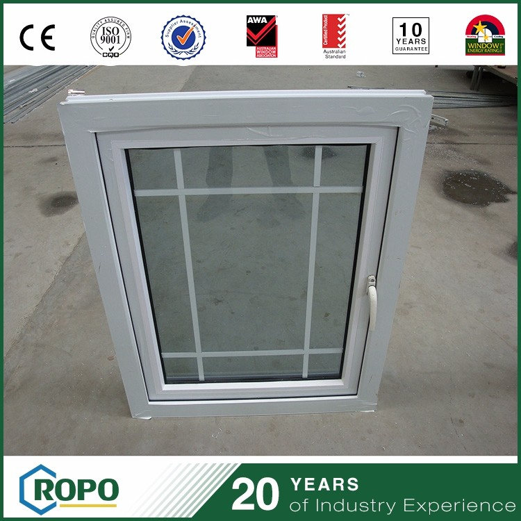 House safety curve insulated glass window grill design
