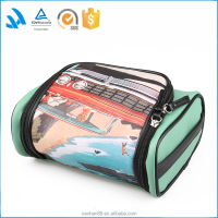 2015 Folding High Level Travel Cosmetic Makeup Case With Hanging Wholesale