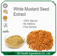 100% Natural GMP Factory Suppler White Mustard Seed Extract Semen sinapis albae extract