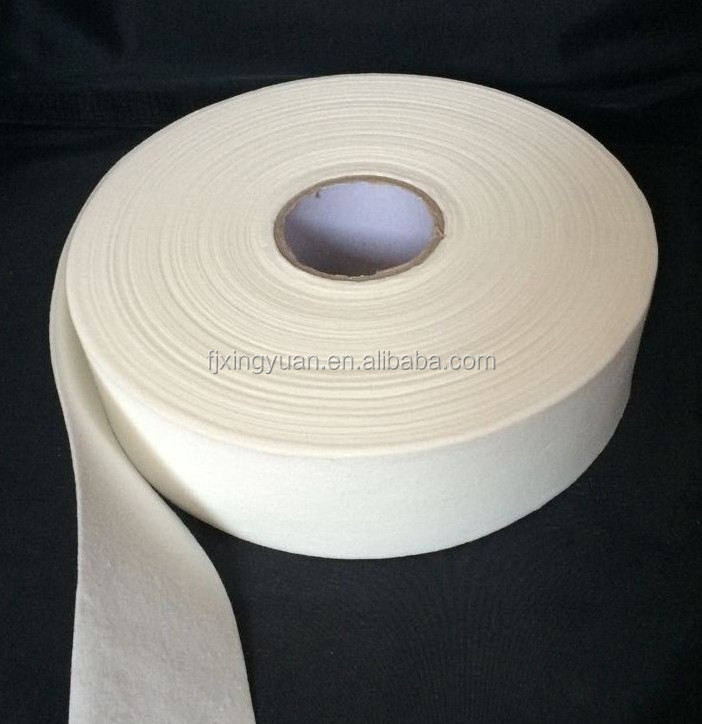 Airlaid paper for feminine sanitary products