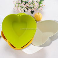 new hotsale bamboo fiber eco friendly BIO tableware bowls, dinnerware bowls disposable for food