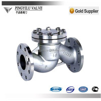 Stainless steel lifting check valve dn80 pn16 wate pipe H41/44W-16P/R
