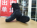 US army issued tactical research ST version hot weather combat boots in black/tan