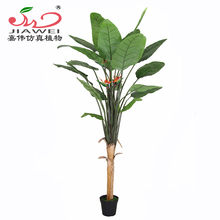 2017 newest decorative artificial bird of paradise flower tree wholesale