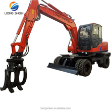 9 ton cheap price 0.36m3 capacity bucket wheel excavator in dubai with CE