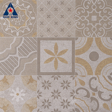 Surface flower pattern art design vintage porcelain tile
