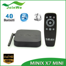2016 best selling set top box MINIX NEO X7 mini 4K 2G 8G quad core Codi 16.0 android 4.4 tv box with free download video songs