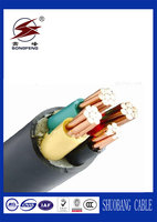 Low voltage 0.6/1kv pvc electric power cable