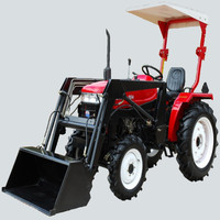 Chinese small power trailer lawn tractor