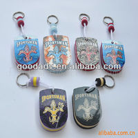new souvenir for 2013 cheaper fashion eva key chain/key ring for promotional gifts