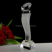 Excellent Diamond Crystal Trophy For Award Souvenir Gifts