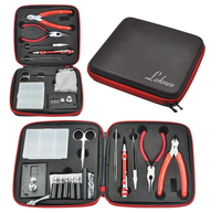 Tool Kit+ Wire Cutters + Organic Cotton + Scissors + Needle Nose Pliers + Screwdrivers +Ceramic Tweezers