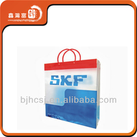 plastic t-shirt bag for apparel packaging
