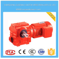 S series 90 degree angle spiral bevel gear reduce speed reducers gearbox