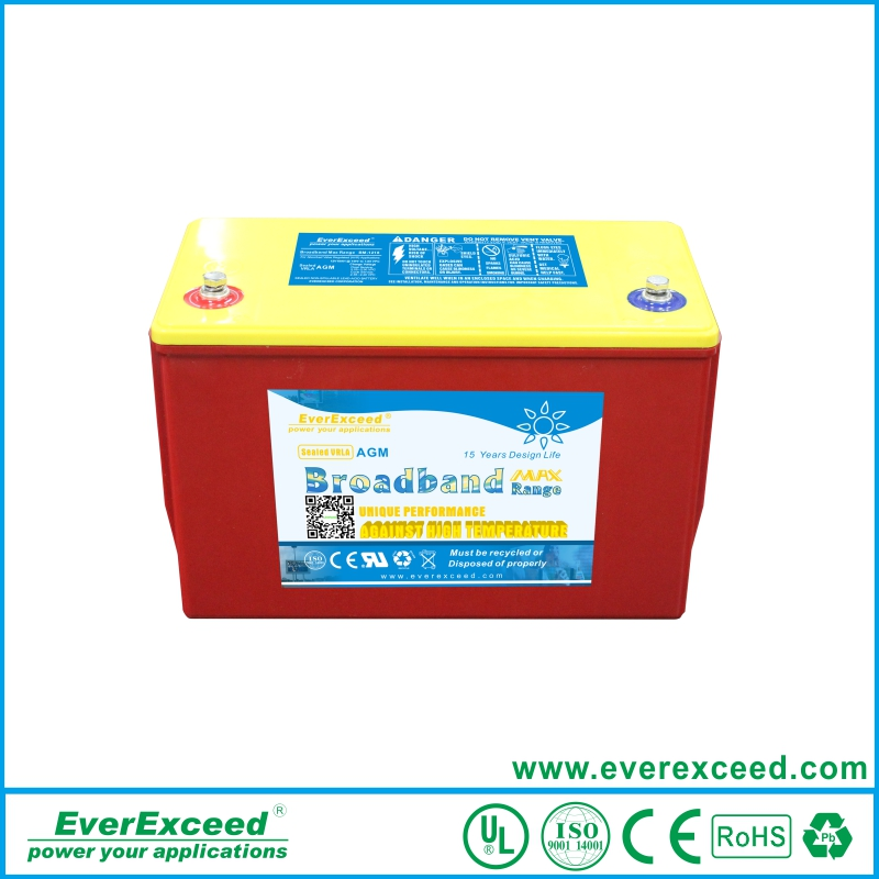 EverExceed 18-250AH Railway Battery High-Temperature Vale Rugulated Lead Acid Battery BM-12150