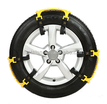 High quality plastic safty snow tire chains for car