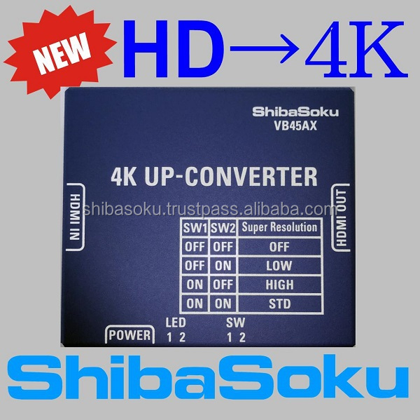 VB45AX HDMI 2.0 4K up-converter for LED TV with super resolution