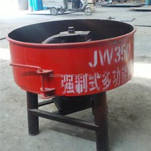 Hot sale! Factory directly sale, JQ350 flat pan cement mixer machine easy operation for concrete mixing
