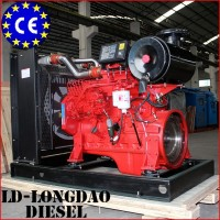 Water cooled 4 stroke 100HP diesel engines for fire fighting