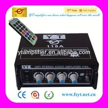 high-tech control and innovation design YT-118A with CD/VCD/DVD input