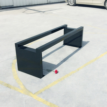 Outdoor powder coating park cast iron bench leg no back