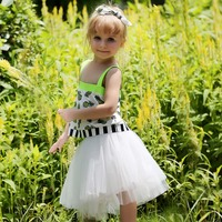 New Product For 2016 Girl Wear Chiffon Plain 2pcs Casual Summer Suits Kids Clothing Sets CS80702-14