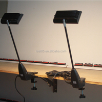 Extendable LED arm light for exhibition,20W/24W,black or silver color,different bracket optional.
