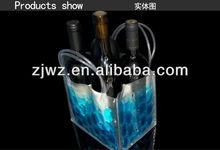 soft pvc wine cooler plastic bag