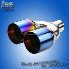 hks auto parts polished Stainless Steel car Exhaust Sliencer Muffler tips