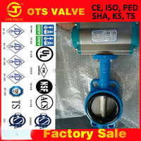 Bv-SY-281 oil, gas, water chemicals medium butterfly valve from tianjin factories