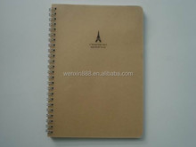 clear plastic cover sprial notebooks