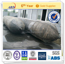boat launching and docking inflatable rubber marine airbag