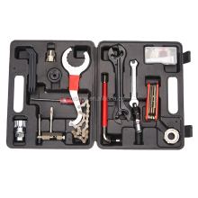 26 parts bike repair tool set for various bicycles
