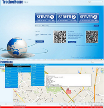 Google maps GPS Tracker real time tracking platform car vehicle gps tracking software