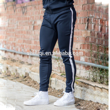 Mens track pants fitness gym wear pants high quality cotton pants made in China
