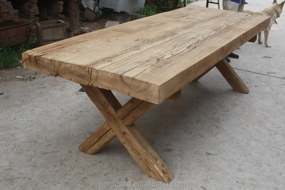 Vintage Reclaimed Thick Wood Slab Dining Table Buy  : vintage reclaimed thick wood slab dining table from www.alibaba.com size 931 x 620 jpeg 132kB