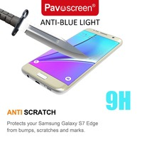 for Samsung S5 S6 galaxy core Edge Glass Screen Protector 0.33mm Easy Install