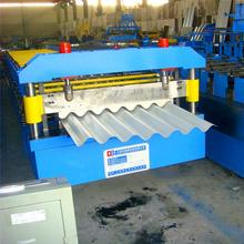 Zinc steel corrugated roller machine