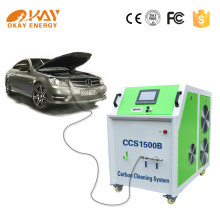 Hho brown gas dry fuel cell carbon cleaning machine