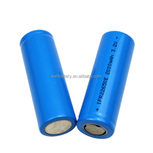 LiFePO4 rechargeable battery IFR22650 3.2v 1900mah Li-ion Cylinder lithium iron phosphate batteries for elcetrical e-bike use