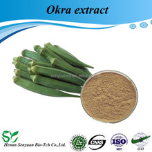 Pure Natural Organic Hibiscus Esculentus Extract / Okra Extract 10:1