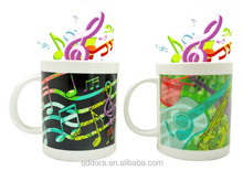 2014 Music Sound Mug For Football Club/Gift Ceramic Musical Coffee Mugs wholesale