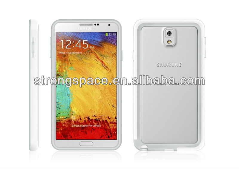 oem case for galaxy note 3, 4 sides protects case for samsung