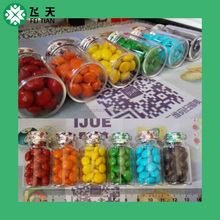30ml 50ml 80ml 90ml 100ml/150ml/200ml/ plastic mini candy jar wedding candies Jar bottle
