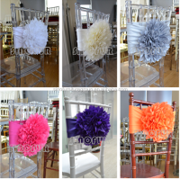 flower chair sash