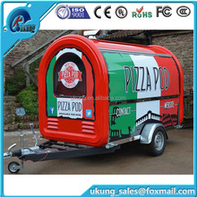Ukung FT-165 bnew Model Mobile Bbq Food Trailer For Sale Fast Bbq Food Trailer With Wheels New Bbq Food Trailer Vending