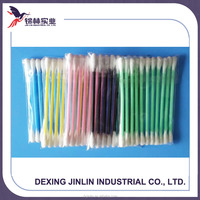 High Quality Color Plastic Stick Cotton