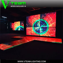 New invention 2014 advertising screen LED dance floor PH10.4mm