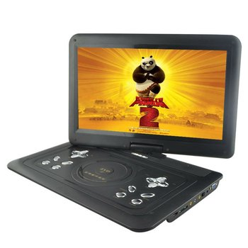 laptop portable and home dvd player support SD MMC Card
